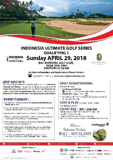 Indonesia Ultimate Golf Series 2018