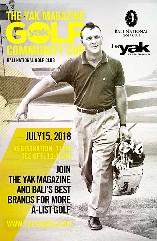 Bali National The Yak Magazine Community Cup