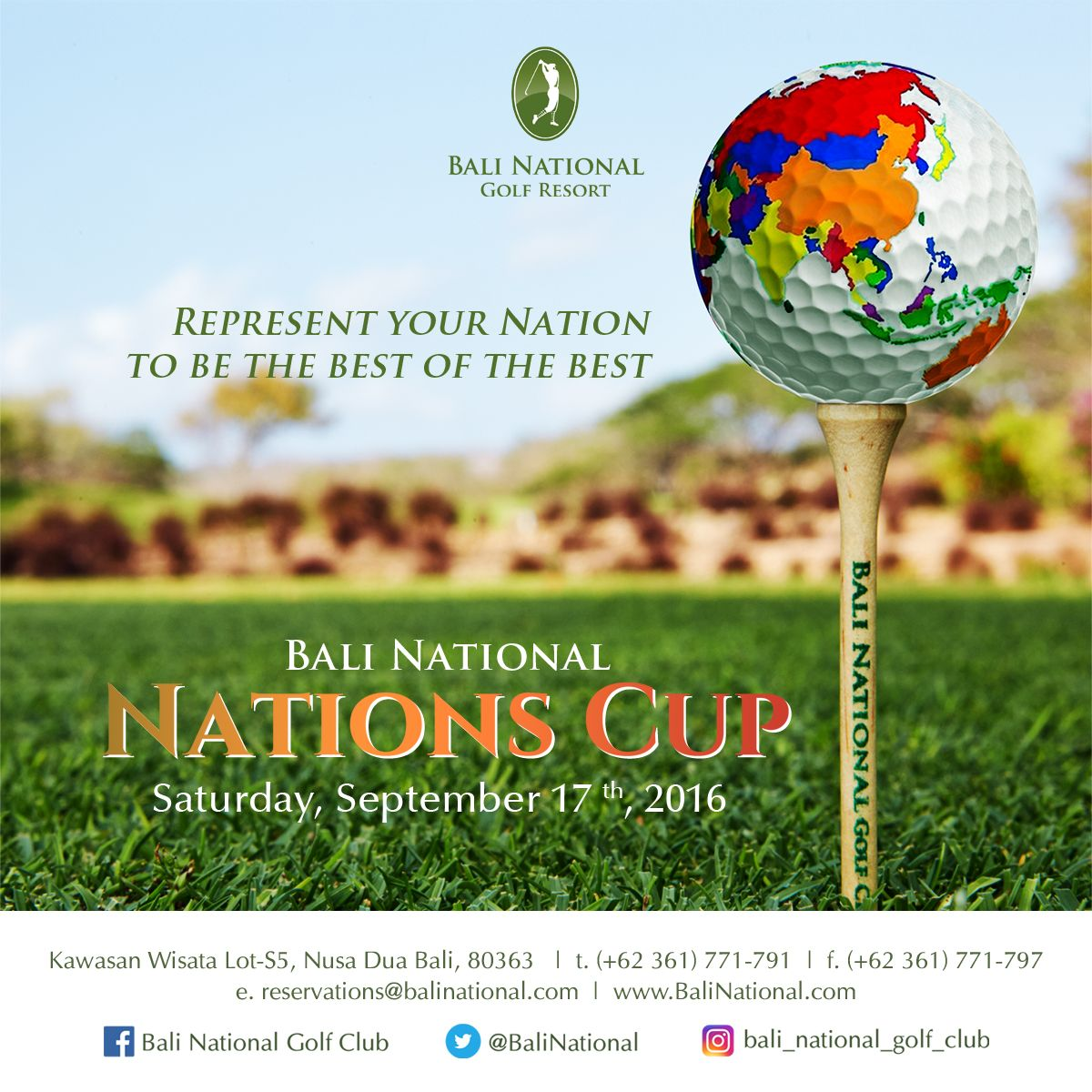 Bali National Nations Cup 2016